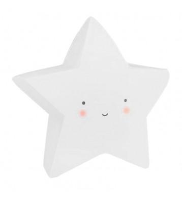 Lamparita LED Estrella blanca quitamiedos