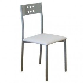Pack 4 sillas Costa cocina blancas