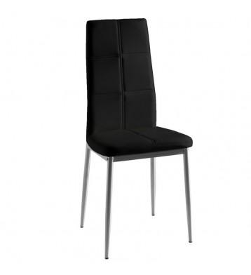Pack 2 sillas Olost salón negro gris