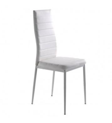 Pack 4 sillas blancas comedor Clady