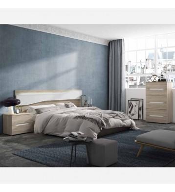 Muebles dormitorio matrimonio Future luz LED