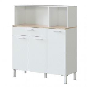 Mueble aparador cocina Yuka auxiliar 126x108x40