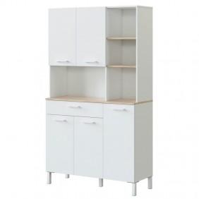 Mueble cocina auxiliar alto 5 p Kira 186x108x40