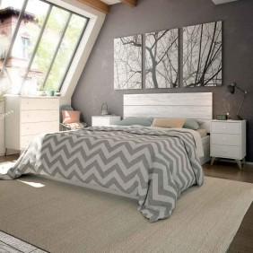Muebles Sweet habitación matrimonio nórdico 135 o 150