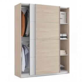 Armario Onix habitación puertas correderas 150 cm