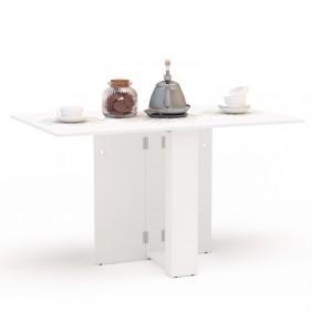 Mesa cocina Swing abatible color blanca 18-132x80 cm