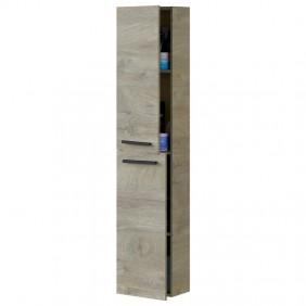 Columna de baño Athena 2 puertas Roble Alaska 150x30x25 cm