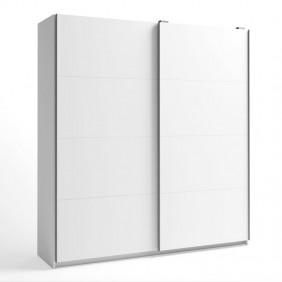 Armario Gran Savona blanco puertas correderas 216x202x56 cm