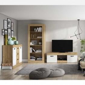 Muebles salón moderno Argos mesa tv + aparador + estantería