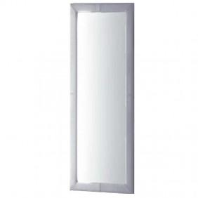 Espejo tapizado 60x160 cm color blanco