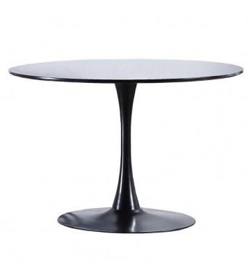 Mesa redonda Gina negra...