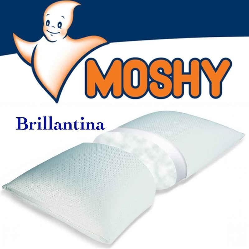 Almohada Brillantina Moshy algodón y poliester