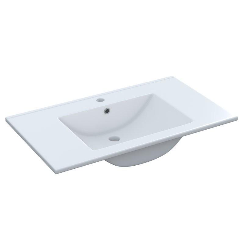 Lavabo Lavamanos de cerámica 80x45