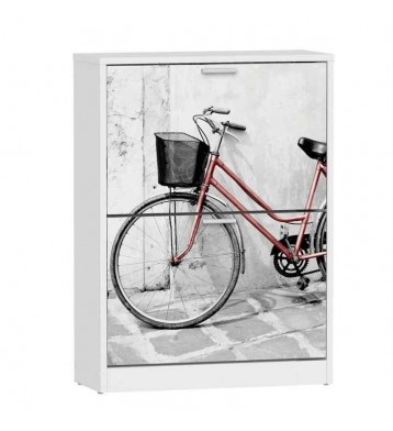 Zapatero armario bici 2 portones