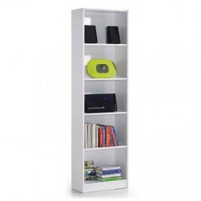 Estantería I-Joy Blanca 5 baldas despacho habitación 180x52