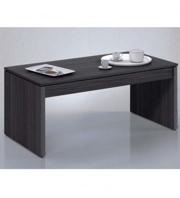 Mesa o mesita de centro elevable. Color gris ceniza.