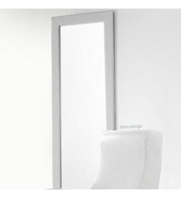 Espejo tapizado 60x160 plata