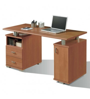 Mesa despacho Duna cerezo 137cm