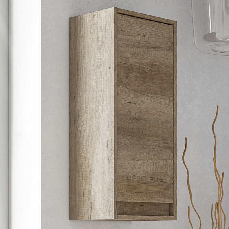 Columna baño 1 puerta color nordik 74x30x26 cm
