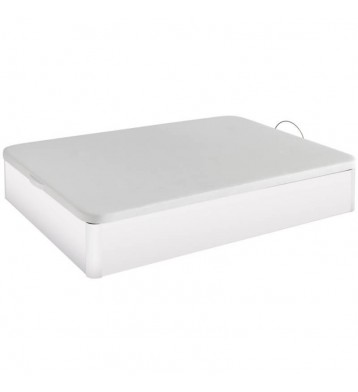Canapé base tapizada 90x190 blanco