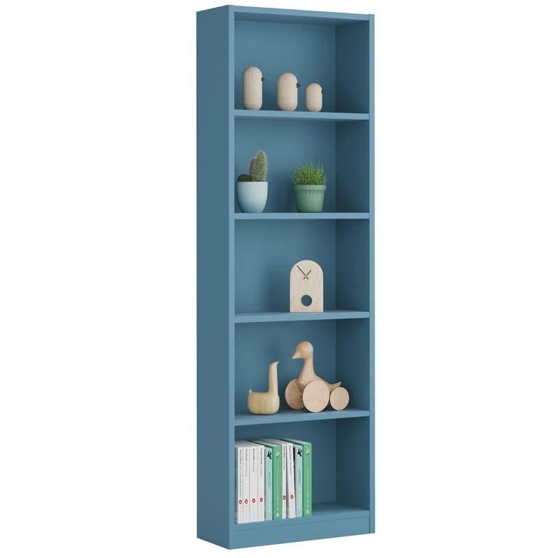 Estanteria juvenil i-joy color azul 5 estantes 52x180x25 cm
