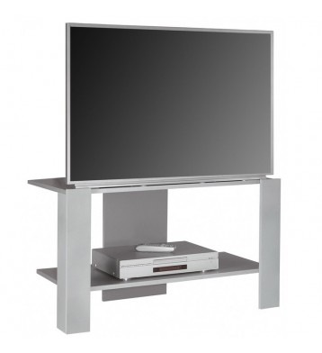 Mesa TV color gris plata 80x52x52 cm