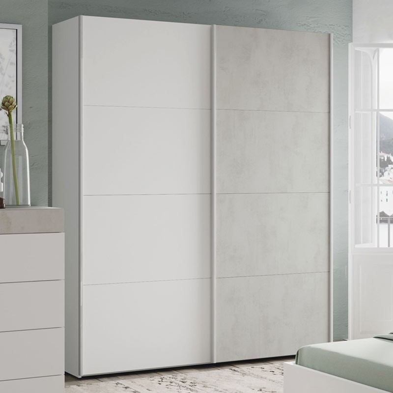 Pack muebles dormitorio Cemento estilo moderno