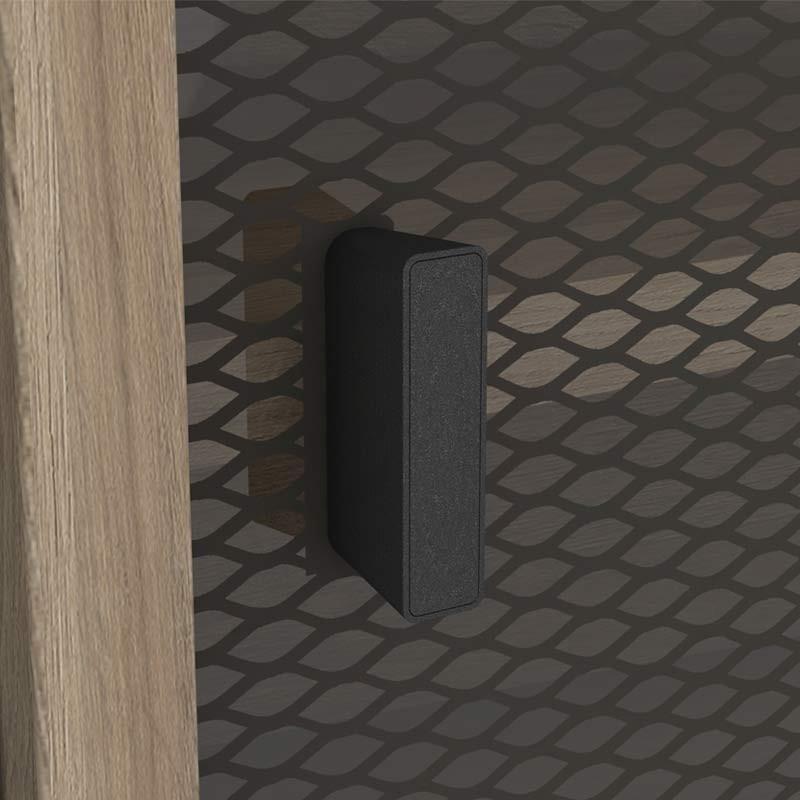 Mesa TV Saga 2 cajones 2 puertas correderas 140x40 cm