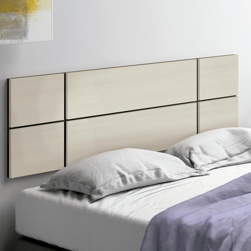Cabecero cama moderno Maka color pino 150 cm