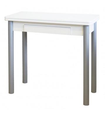 Mesa cocina plegable Mijas blanca 80x40-80