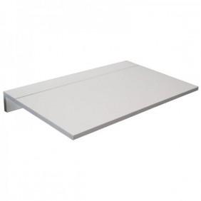 Mesa cocina plegable Vera de pared blanca 80x10-50