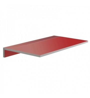 Mesa cocina plegable de pared Vera roja 80x10-50