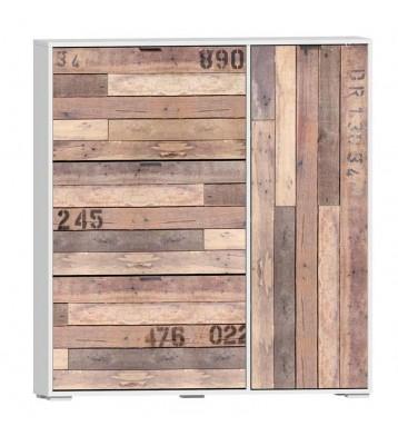 Zapatero Wooden 120x129 armario