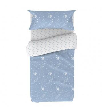 Funda nordica infantil Espacio cama 90x190
