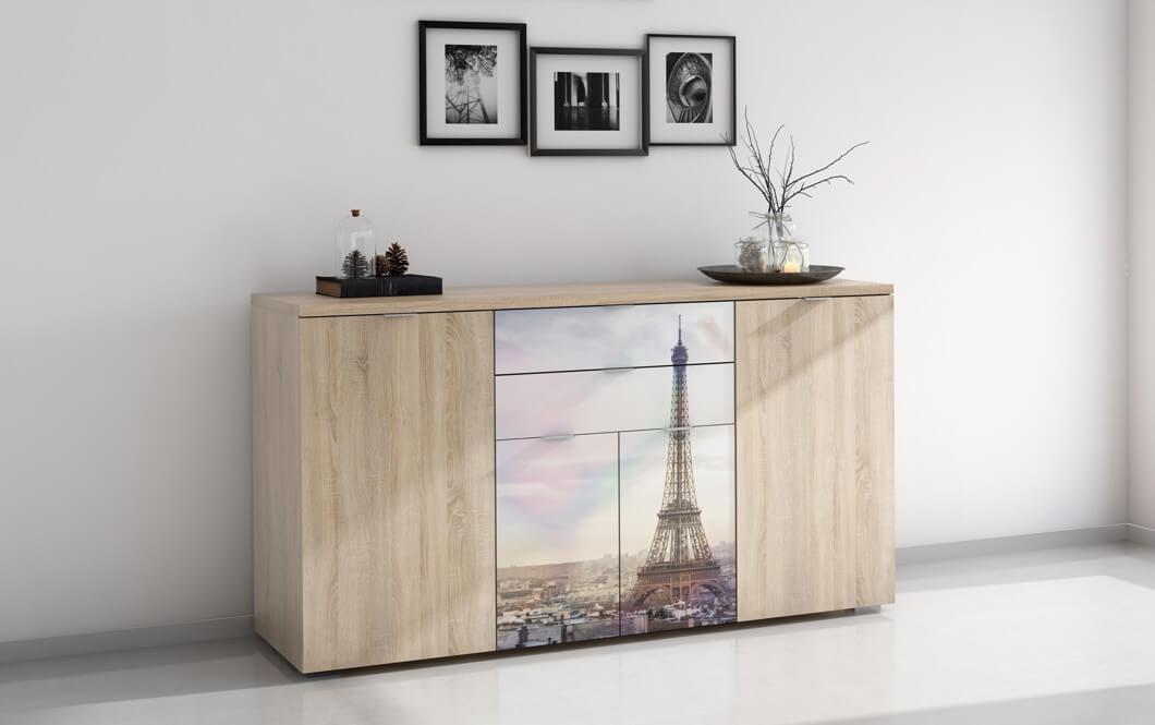 Mueble fabricado con melamina.