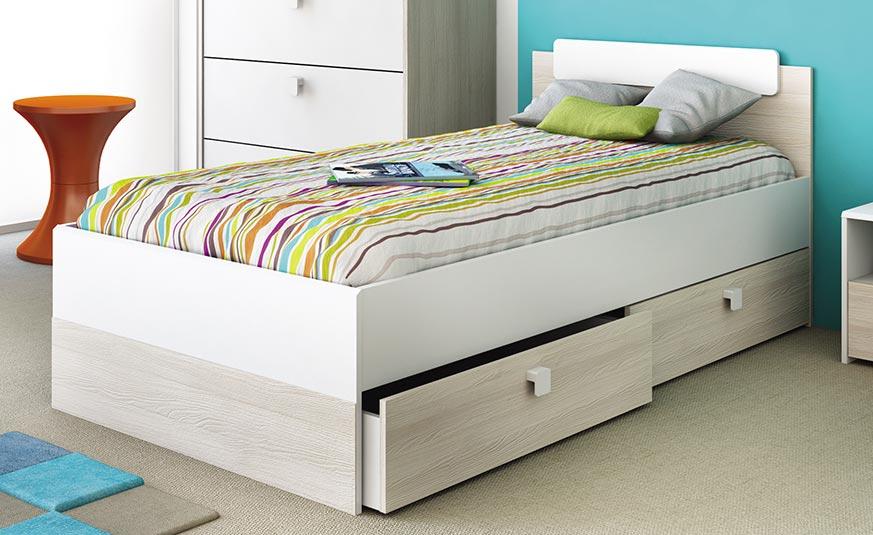 Muebles juvenil para habitaci n muy peque a 7 tips blog - Muebles habitacion pequena ...